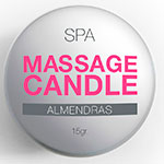 Massage Candle SPA Almendras